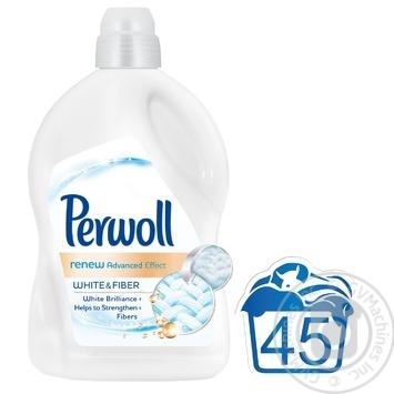 Средство для стирки Perwoll для белых вещей 2,7л - купить, цены на МегаМаркет - фото 2