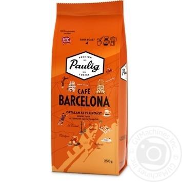 Кава Paulig Cafe Barcelona мелена темнообсмажена 250г - купити, ціни на Novus - фото 1