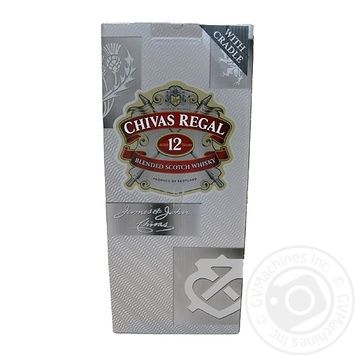 Chivas Regal 12YO Blended Scotch Wisky 4,5l gift box