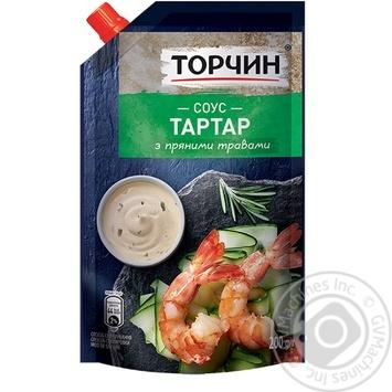 Соус Торчин Тартар 200г - купити, ціни на Novus - фото 1