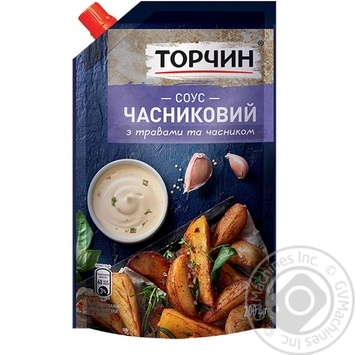 TORCHYN® Garlic sauce 200g - buy, prices for Novus - image 1