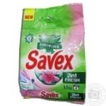Порошок Savex Parfum Lock 2в1 Fresh прал.авт.1200г