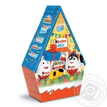 Kinder Mini Mix chocolate candy 199,5g - buy, prices for Novus - image 1