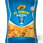 Чипсы начос El Sabor соленые 100г
