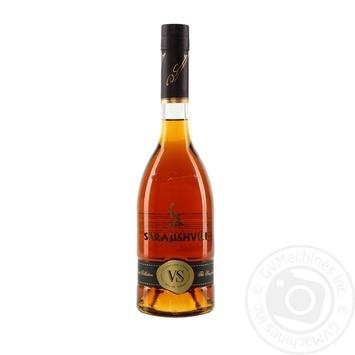 Cognac Sarajishvili 40% vs 500ml glass bottle Georgia
