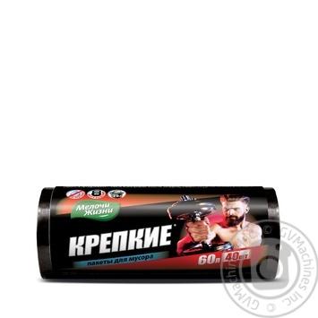 Melochi Zhyzni Garbage Bags 60l 40pcs - buy, prices for Furshet - image 1