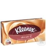 Салфетки Kleenex Ультрасофт в коробке