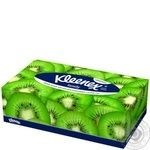 Салфетки Kleenex Family Boxes в коробке - купить, цены на Ашан - фото 2