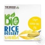 Десерт рисовый The Bridge ваниль органический 4*110г