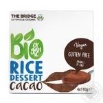 Десерт рисовый The Bridge с какао органический 4*110г