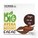 Десерт овсяный The Bridge с какао органический 4*110г