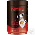 Кофе Kimbo Espresso Napoletano молотый ж/б 250г