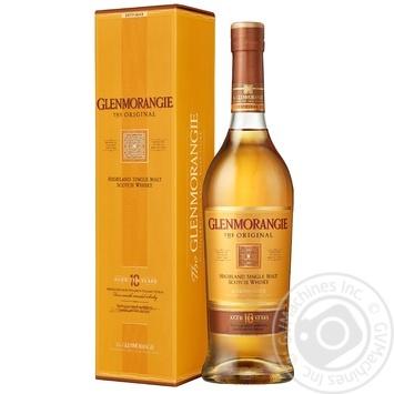 Виски Glenmorangie Original 10 лет 40% 1л