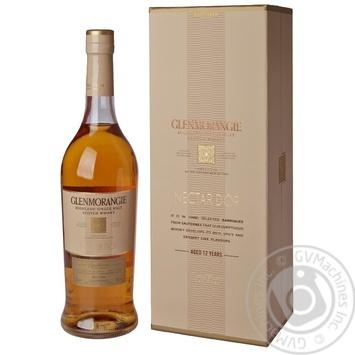 Виски Glenmorangie Nectar d'Or 12 лет 46% 0.7л - купить, цены на Novus - фото 5