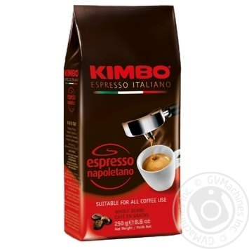 Kimbo Espresso Napoletano whole beans coffee 250g - buy, prices for Novus - image 1