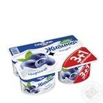 Йогурт Живинка черника 1.5% 115г х 4 шт