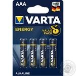VARTA Energy AAA BLI 4 battery - buy, prices for Novus - image 1