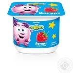 Йогурт Смешарики Клубника 1,4% 115г