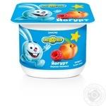 Йогурт Смешарики Персик-Малина 1,4% 115г