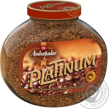 Кофе Ambassador Platinum растворимый 47,5г