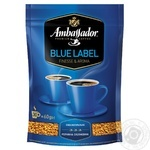 Кофе Ambassador Blue Label растворимый 60г