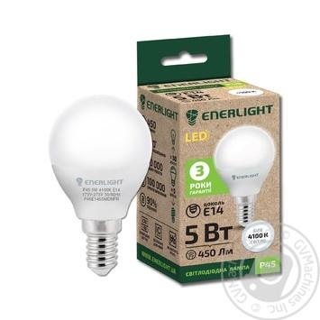 Enerlight LED lamp P45 5W 4100K E14 - buy, prices for Novus - image 1