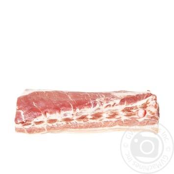 Грудинка свиная охлажденная без кости