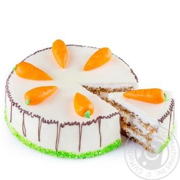 Торт Швейцарский морковный - купить, цены на Novus - фото 3