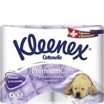 Туалетная бумага Kleenex Cottonelle Premium Care 4шт