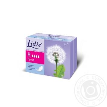 Прокладки Lidie Ультра Супер гігієнічні сіточка 8шт - купити, ціни на Novus - фото 1