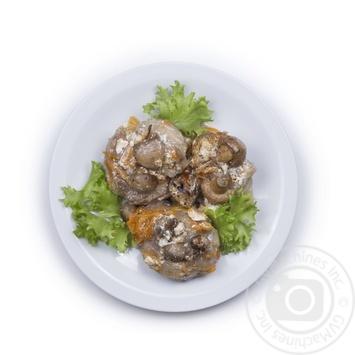Индейка с грибами