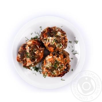 Turkey with mushrooms