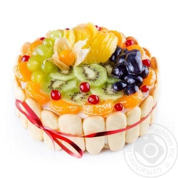 Торт Фруктовий букет - купити, ціни на Novus - фото 3