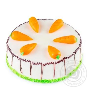 Торт Швейцарський морквяний кг