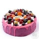 Торт ягодно-йогуртовый