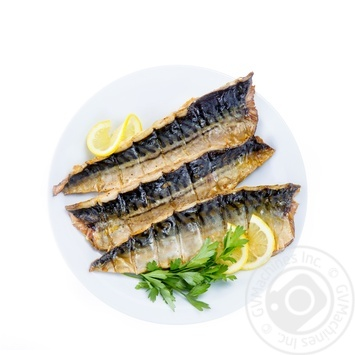Grilled mackerel fillet