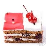 Пирог Медовый с вишней