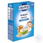 Karapuz for children from 5 months milk oatmeal 250g