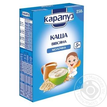 Каша детская Карапуз молочная овсяная 250г
