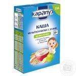 Каша Карапуз Мультизлакова 5 злаків 250г