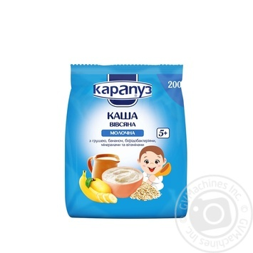 Karapuz for children with pear and banana milk oatmeal 200g