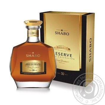 Shabo Reserve 20 yrs brandy 42% 0,5l - buy, prices for Novus - image 1