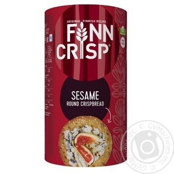 Хлебцы Finn Crisp пшеничные с кунжутом 250г - купить, цены на МегаМаркет - фото 1
