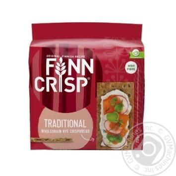 Хлебцы Finn Crisp традиционные ржаные 200г - купить, цены на МегаМаркет - фото 1