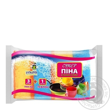 Sponge Dobra gospodarochka for washing