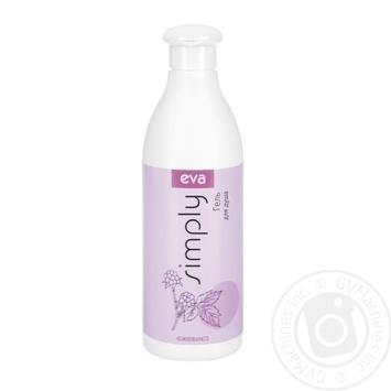 Гель - крем для миття тіла з ожиною EVA SIMPLY 500мл