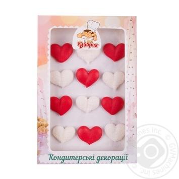 Набор декораций Добрик Сердечки №2