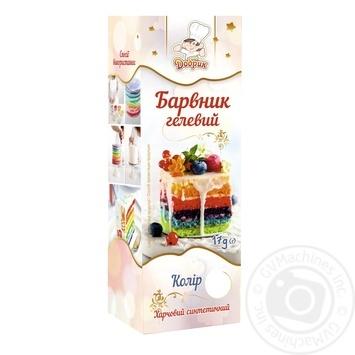 Краситель гелевый Добрык пищевой 17г - купить, цены на Novus - фото 1