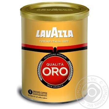 Lavazza Qualita Oro ground coffee 250g - buy, prices for Metro - image 1