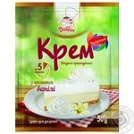 Cream Dobryk with vanilla ready-to-cook for baking 50g